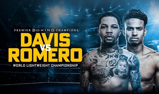 More Info for Gervonta Davis vs. Rolly Romero