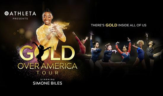 More Info for SIMONE BILES HEADLINES ATHLETA PRESENTS GOLD OVER AMERICA TOUR