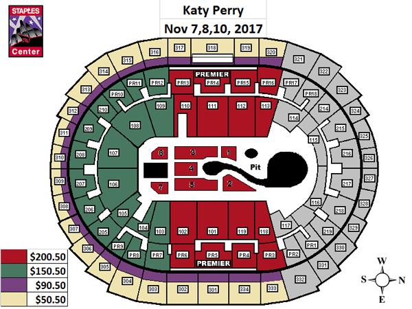 Katy Perry  STAPLES Center