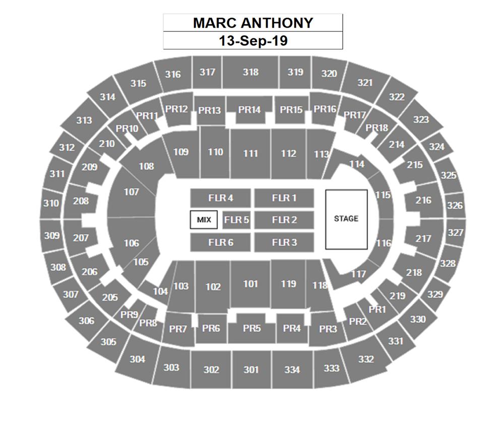 Marc Anthony Staples Center