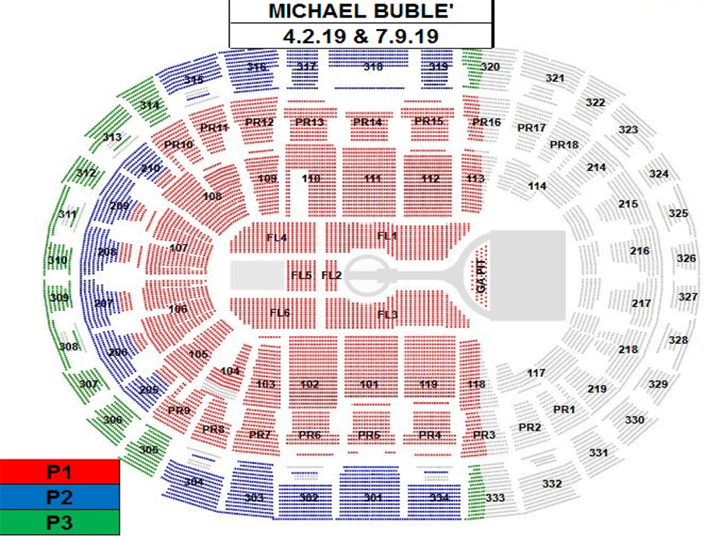 An Evening With Michael Bublé Staples Center