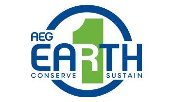 A.E.G one earth. Conserve. Sustain