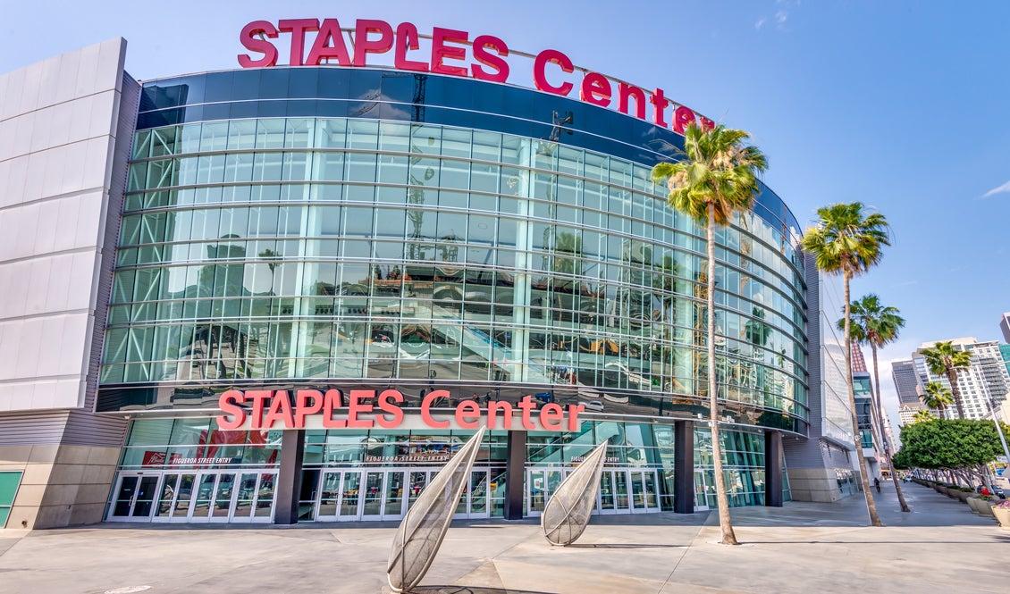 STAPLES Center Figueroa Street Entrance